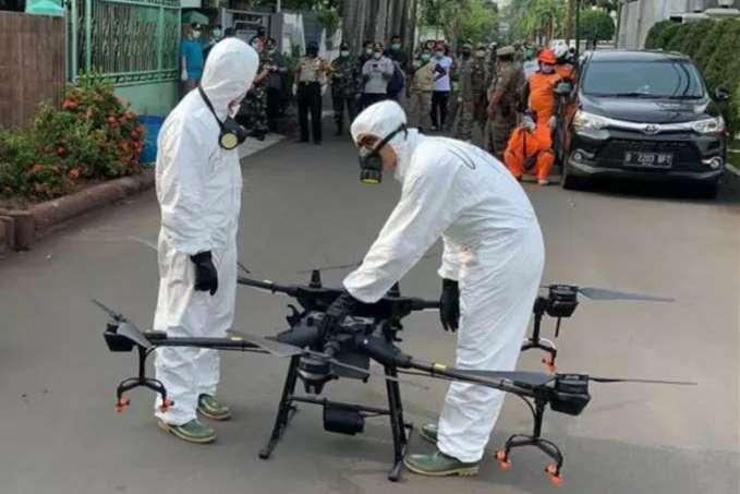 这集上演了!中国大疆农业无人机助全球多国消灭病毒