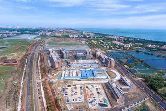 """海南自贸港重点园区建设""""加速跑"""""""